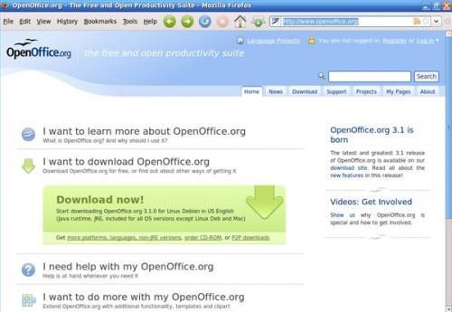Come installare OpenOffice per Linux
