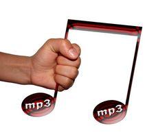 Come collegamento a un file MP3 sul tuo sito web