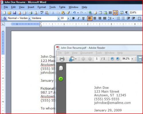 Come creare un file PDF da un documento di Word