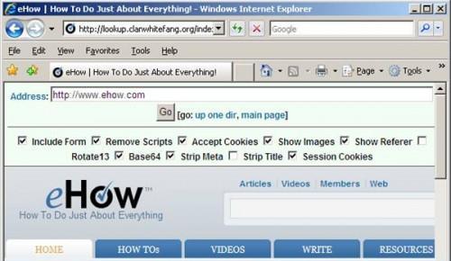 Come muoversi un filtro Internet