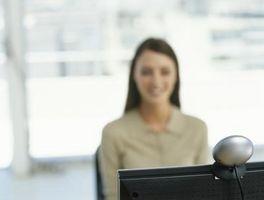 Si può chattare usando una webcam con una connessione dial-up?