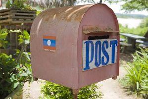 Come individuare una spedizione First Class International Mail