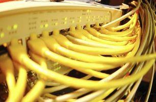Come impostare una rete di hub Ethernet con DSL