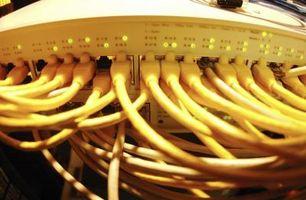 Cosa succede quando una si collega un cavo CAT 5 da uno switch di rete in una rete WAN?