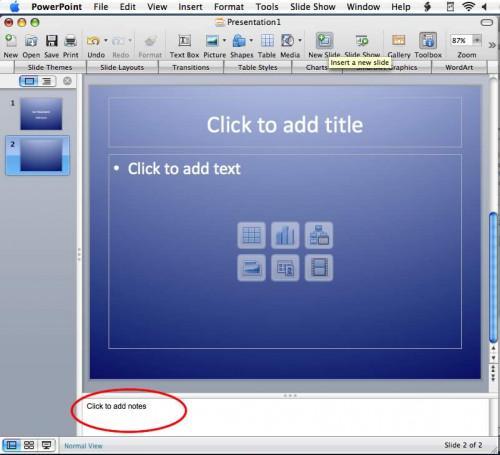 Come citare fonti in una presentazione di PowerPoint