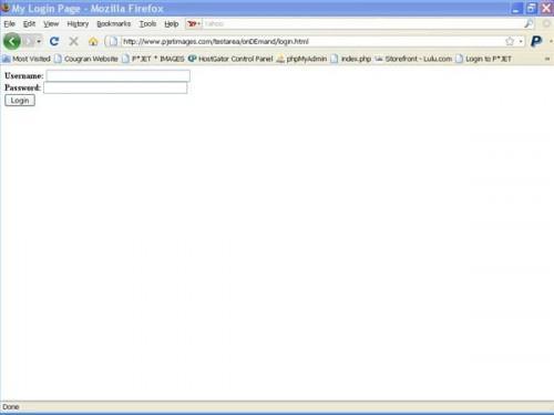 Come creare Accesso in HTML