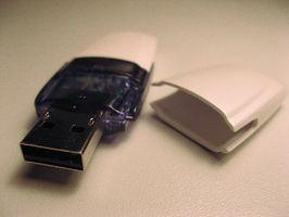 Come utilizzare una memoria Flash Drive Come con sistema operativo Linux su un PC