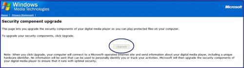 Come aggiornare Windows Media Player DRM Identifier