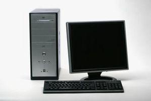 Come regolare un Dell a schermo piatto Monitor