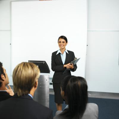 È possibile eseguire una presentazione di PowerPoint con i vostri Note visibile solo a te?