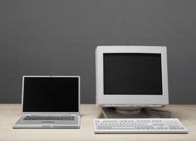 Come condividere un monitor tra due computer utilizza un commutatore