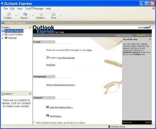 Come posso leggere il mio e-mail da lavoro a casa?