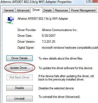 Come risolvere una connessione di rete senza fili di Windows