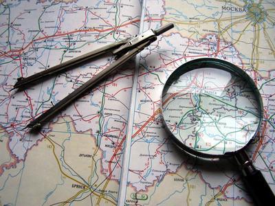 Come creare un raggio Mappa
