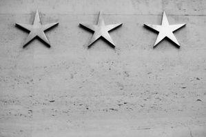Come aggiungere simboli stella in Dreamweaver