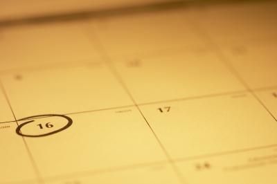 Come creare un calendario Pagina vuota