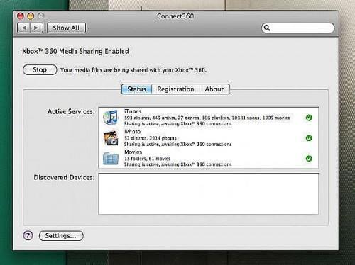 Come per lo streaming di musica e filmati da un Mac a una Xbox 360