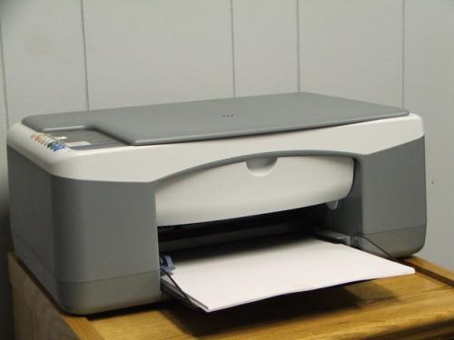Come caricare una cartuccia d'inchiostro nella stampante HP Deskjet F4180
