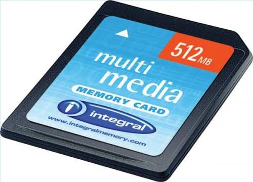 Che cosa è una scheda di memoria multimediale?