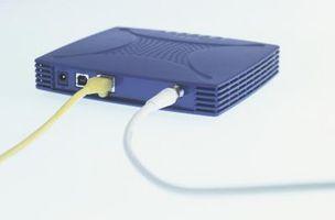 Come collegare un computer portatile a un tavolo con un router