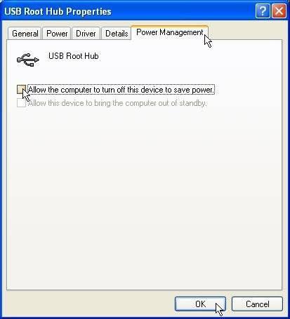 Come risolvere una porta USB che si accende e spegne ripetutamente