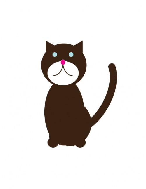 Come creare un vettore del gatto in Illustrator