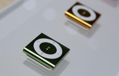 Qual è il driver Chiamato per una clip iPod Shuffle?