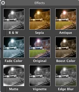 Come utilizzare iPhoto per fare una foto in bianco e nero