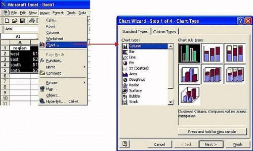 Come fare un grafico semplice e veloce in Microsoft Excel