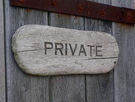 Come visualizzare un conto privato di Facebook
