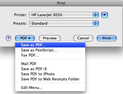 Come Convertire Word in PDF su Mac