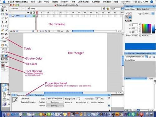 Come creare un file Macromedia Flash