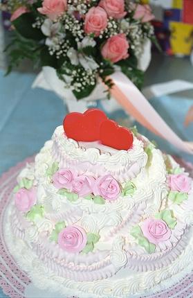 Giochi torta nuziale