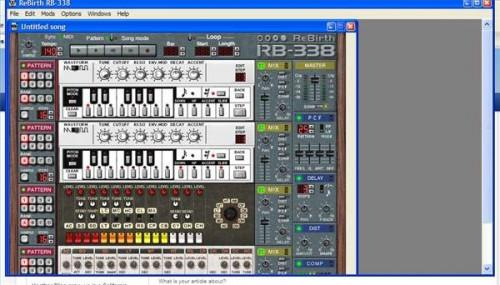 Stand-alone tamburo simulatore software per Windows XP