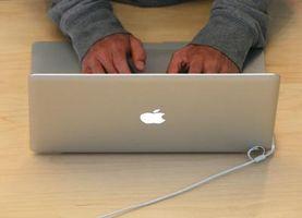 Come cambiare un disco rigido In un MacBook in alluminio