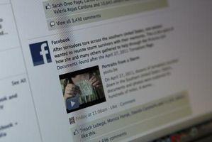 Come aggiungere un collegamento a profilo di qualcuno sulla vostra Aggiornamento Facebook