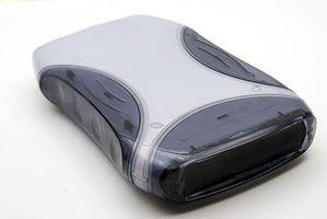 Come riformattare un computer portatile con un disco rigido esterno