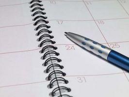 Come eliminare tutti i Calendario eventi in Outlook 2010