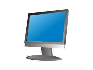 Monitor Risoluzione dei problemi a schermo piatto