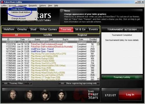 Come giocare Poker Stars
