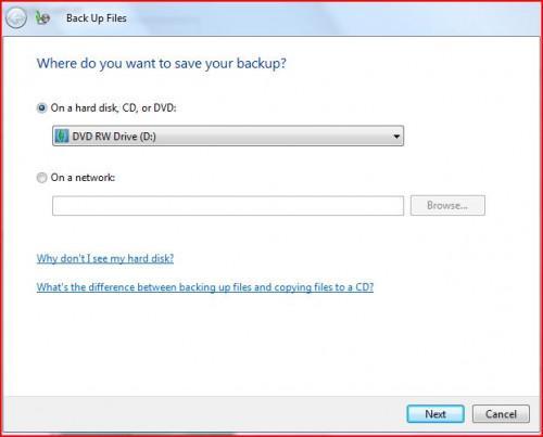 Come fare il backup di un disco rigido dopo un guasto imminente