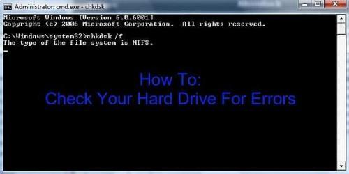 Come controllare il disco rigido per gli errori in Microsoft Windows