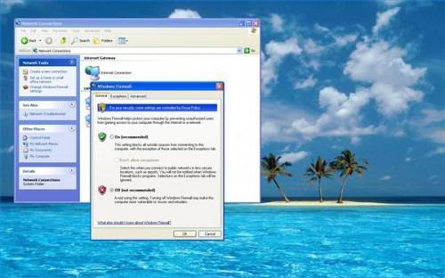 Come disattivare un firewall di Microsoft