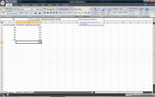 Come calcolare probabilità Utilizzo di Excel