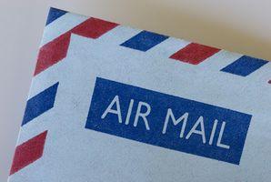 Come tenere traccia di posta aerea registrata
