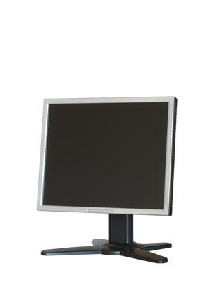 Che cosa è un sensore di luce ambientale su un monitor?