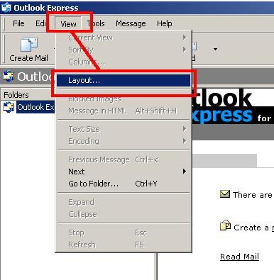 Come aggiungere una colonna Rubrica di Outlook Express