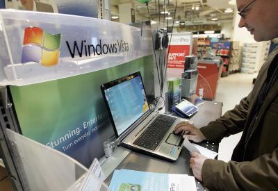 Come rimuovere Avvisi di protezione Windows Vista Dalla barra delle applicazioni