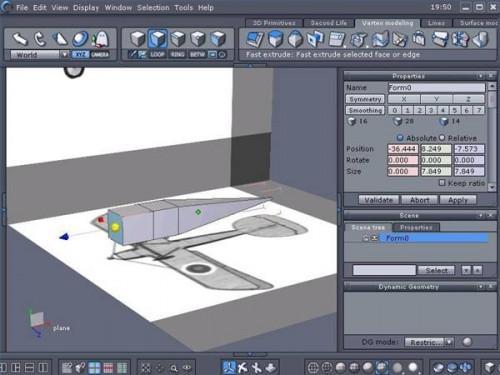 Come fare un modello 3D di un aereo