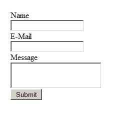 Come costruire una richiesta di informazioni pagina Web